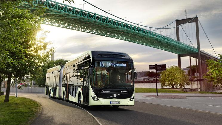 transdev electric bus