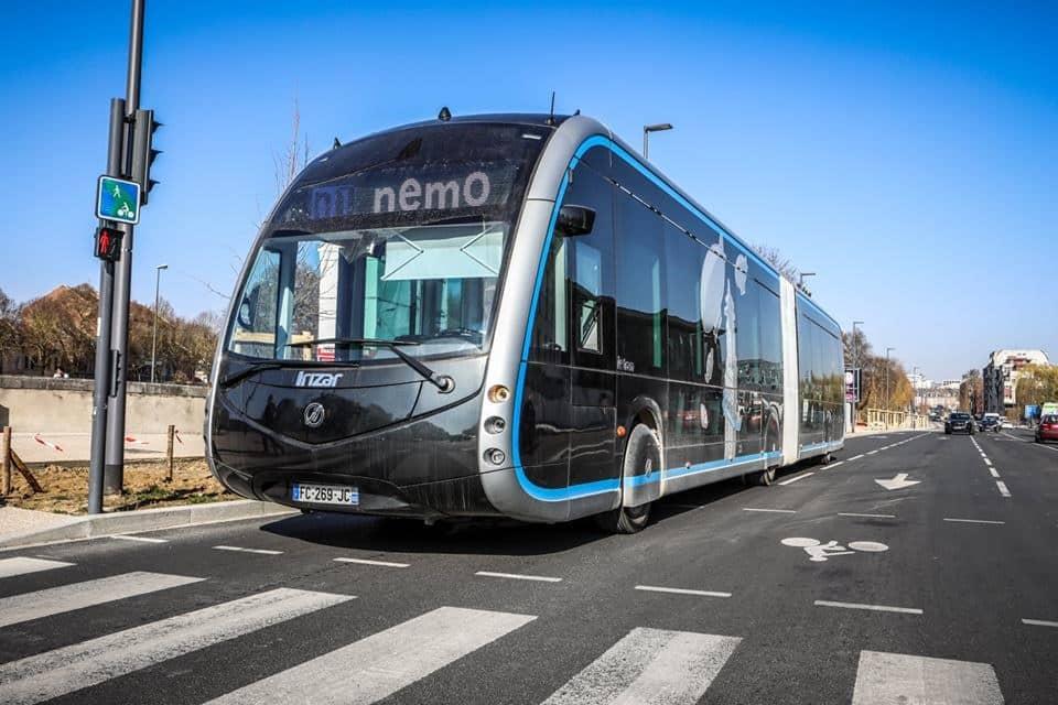 taranto brt electric bus