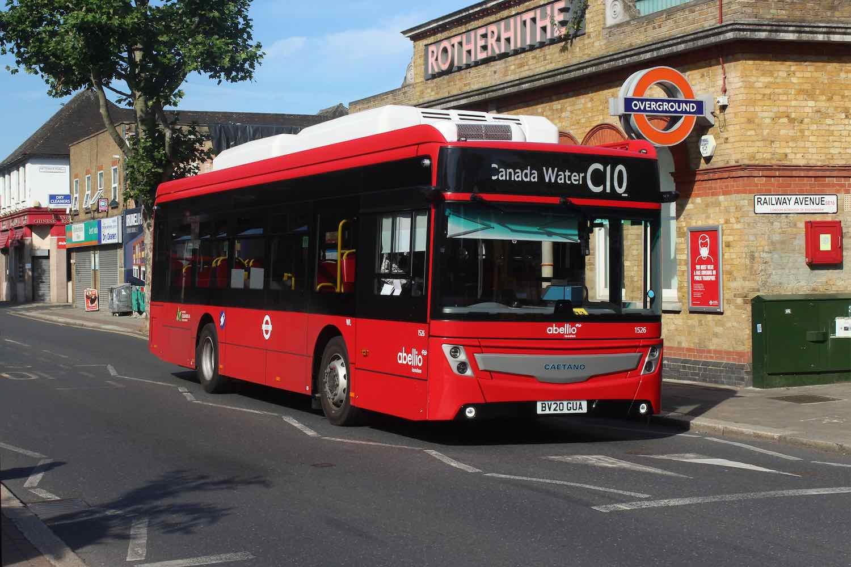 abellio london e-bus