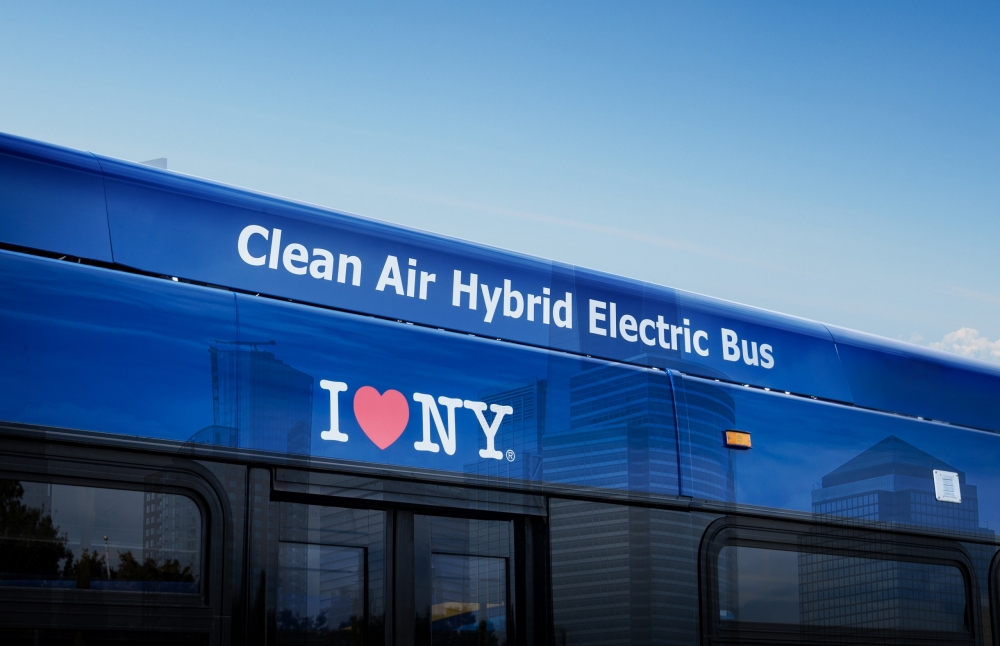 bae systems hybrid buses new york