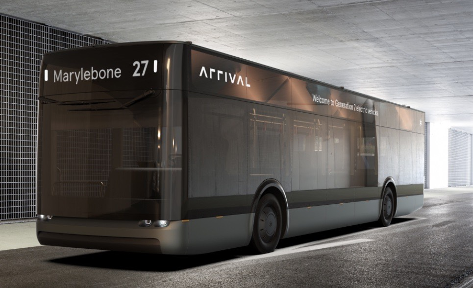 arrival bus electric