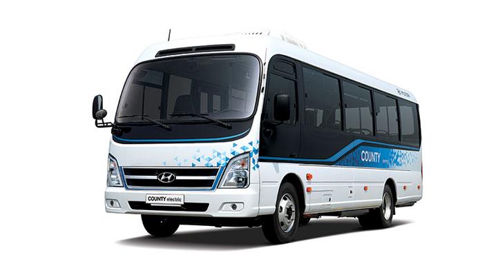 hyundai county electric minibus