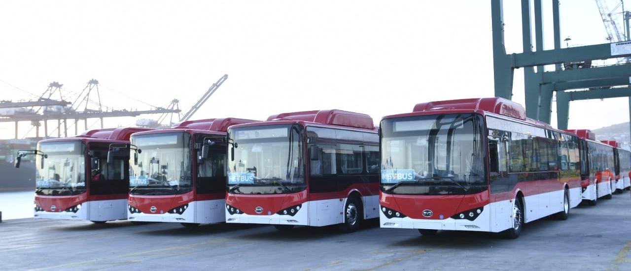 electric bus santiago