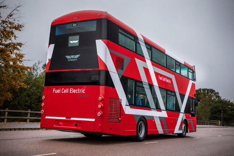 wrightbus ballard fuel cell bus