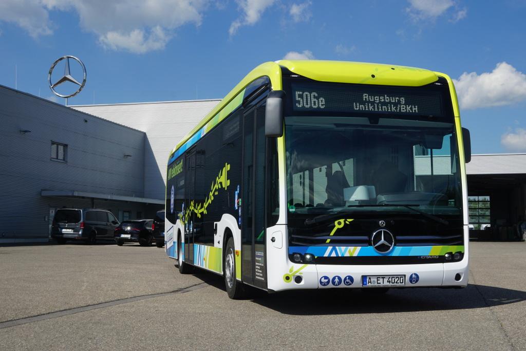 Egenberger bus company mercedes ecitaro