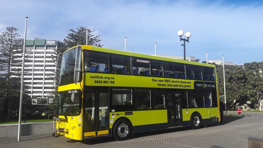 wellington electric bus