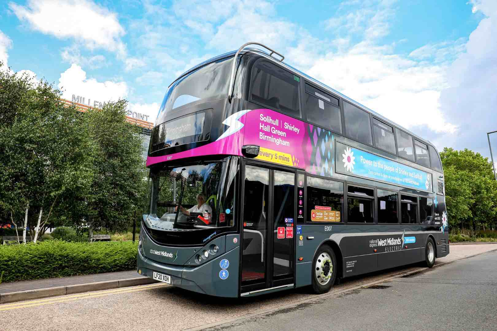 National Express electric buses