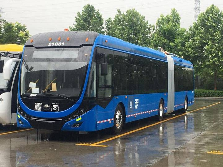 yutong trolleybus