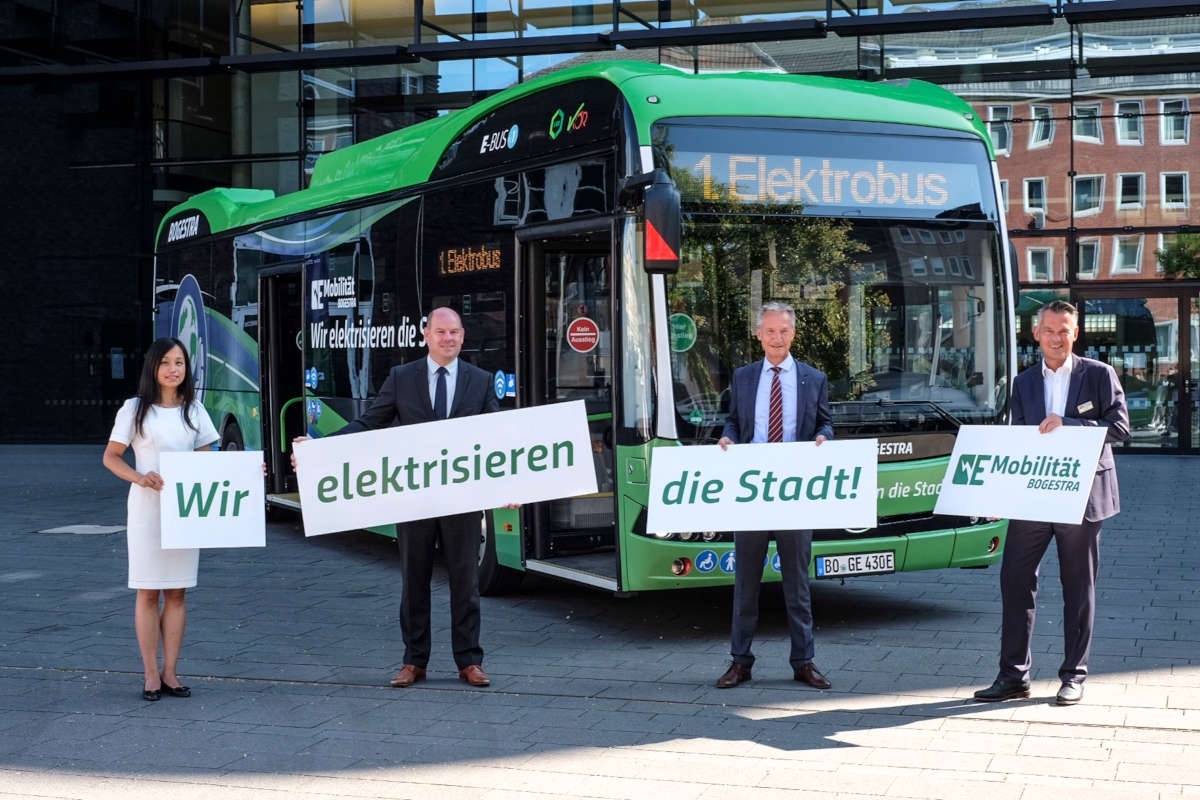 byd germany electric bus