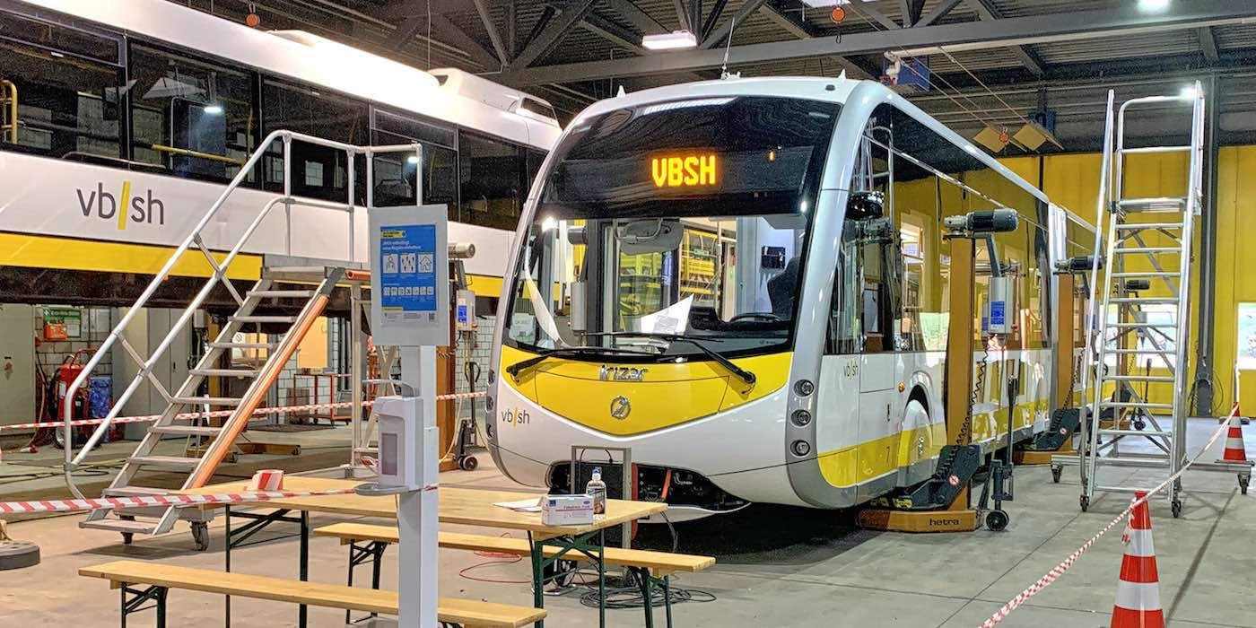 Schaffhausen electric bus