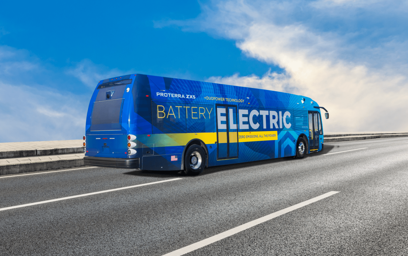 proterra ZX5 electric bus
