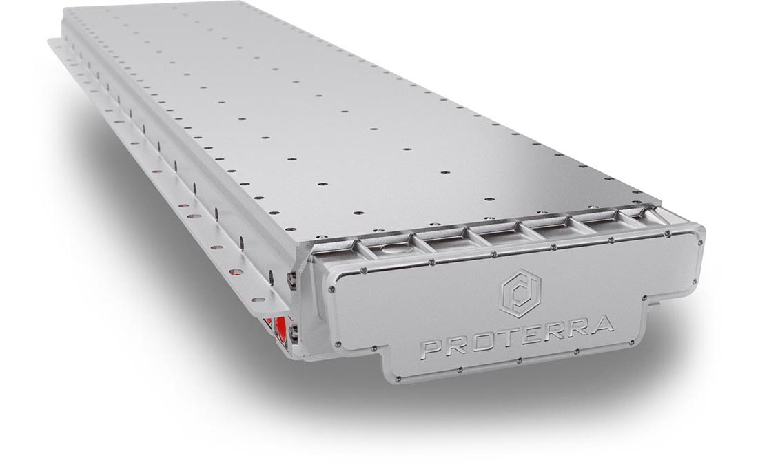 proterra H series battery