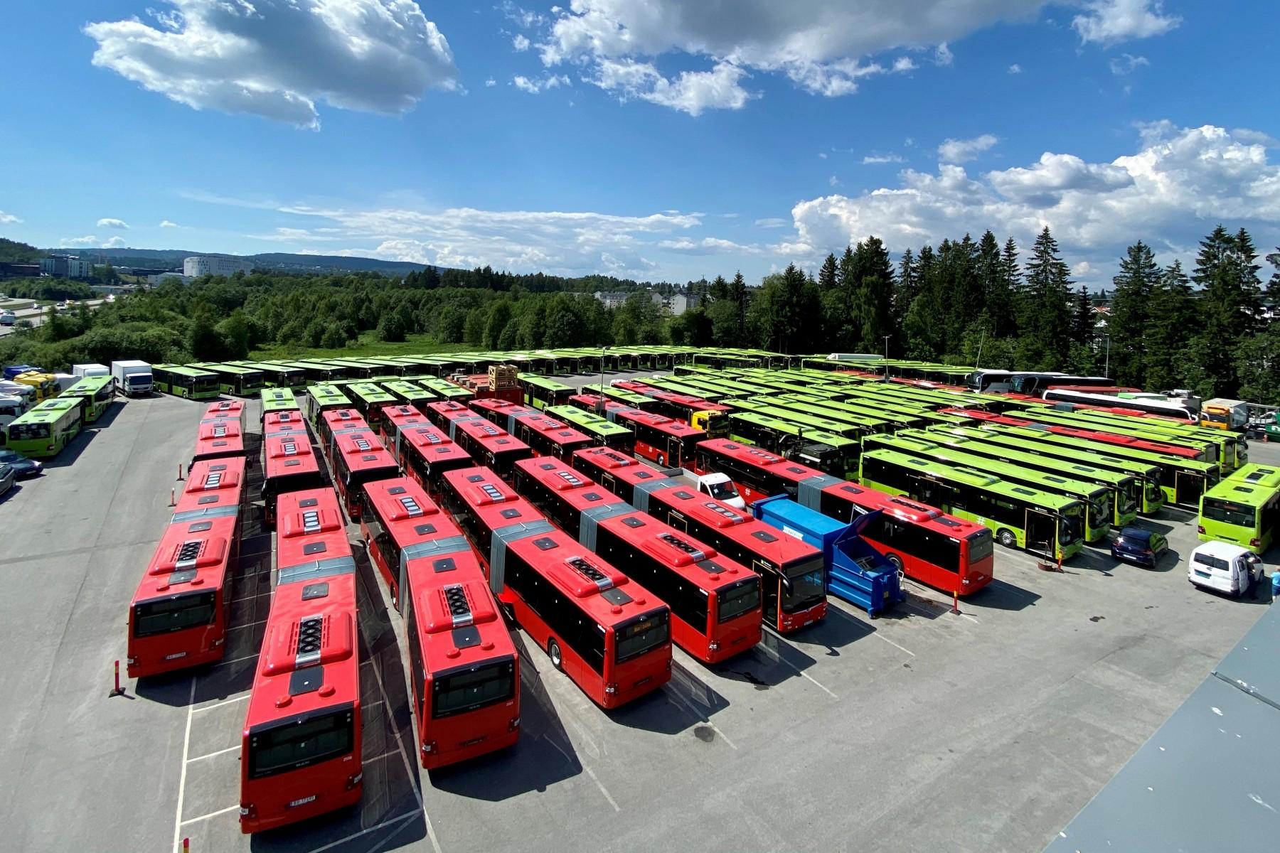 biofuel buses oslo