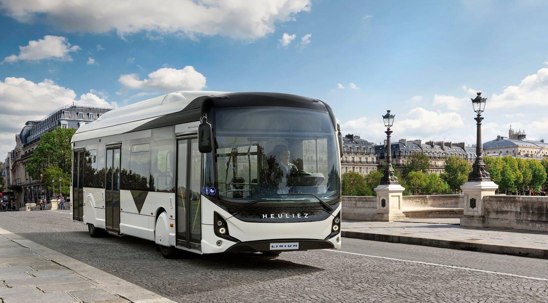 heuliez electric bus aix provence