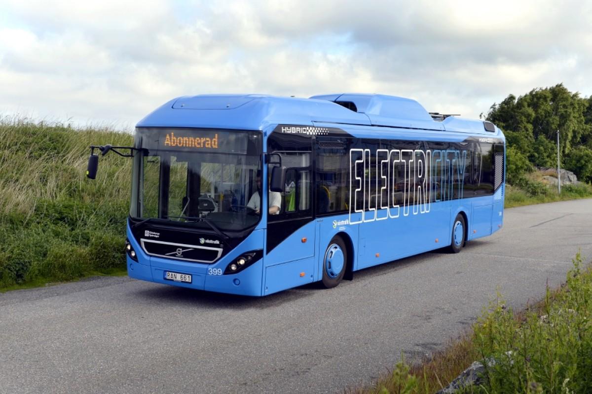 Västtrafik electric bus