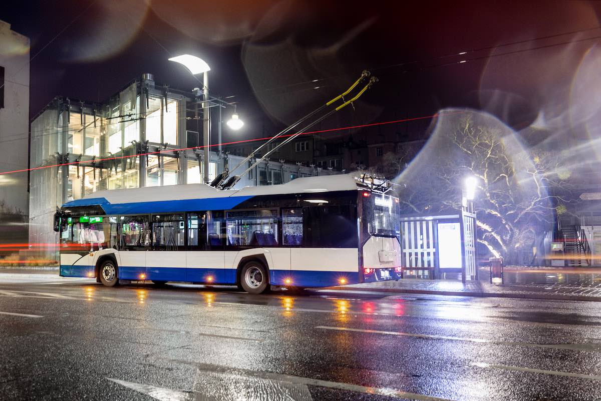 solaris trolleybus solingen