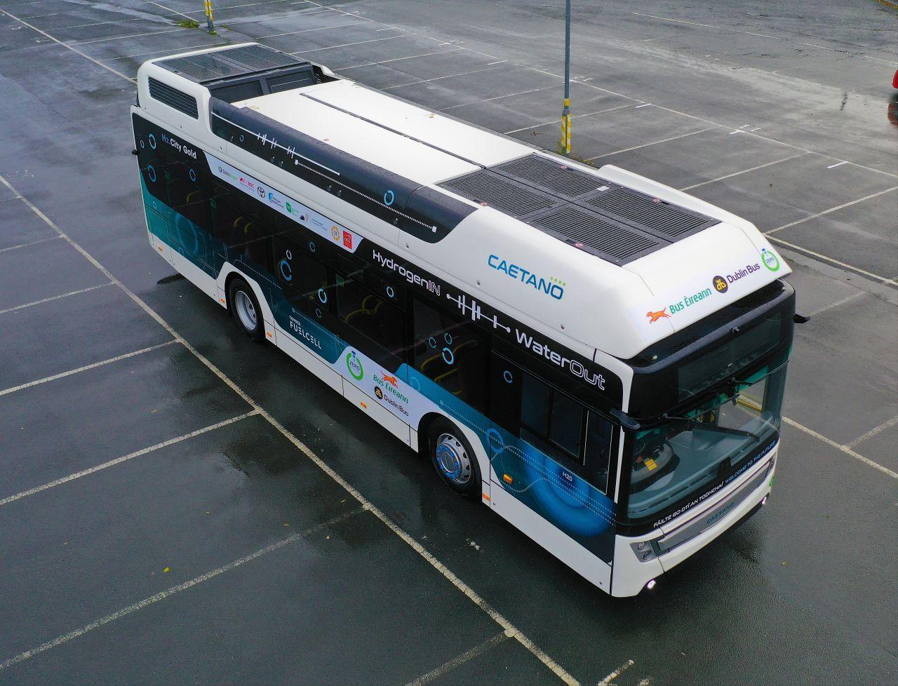 hydrogen bus ireland