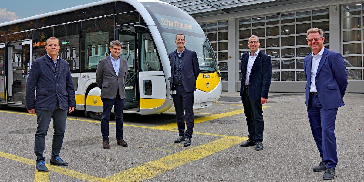 Schaffhausen electric buses