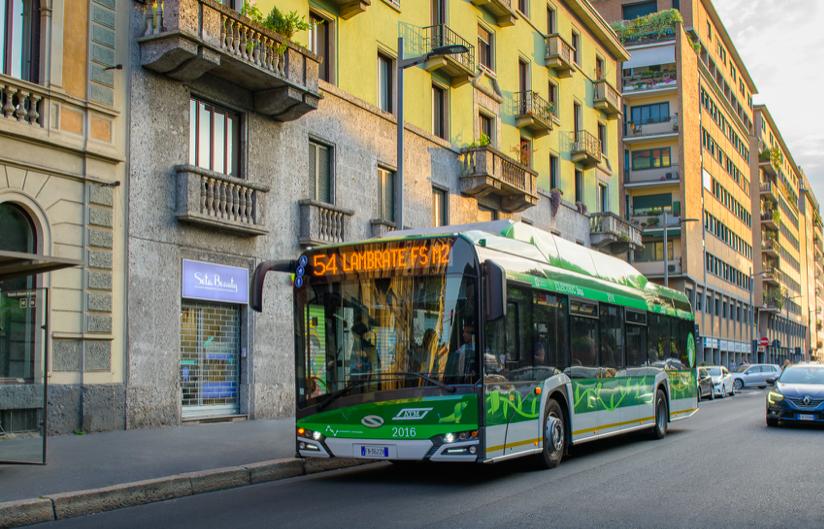 solaris electric buses milan