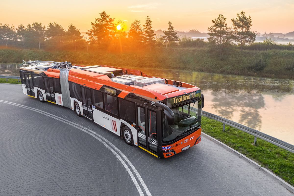 first solaris trolleybuses norway