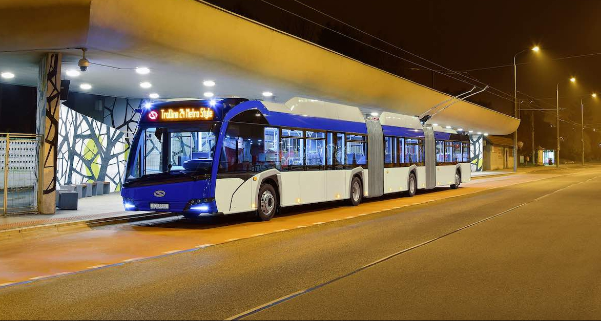 solaris longest trolleybus