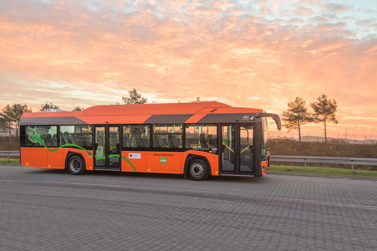 poland electric school bus