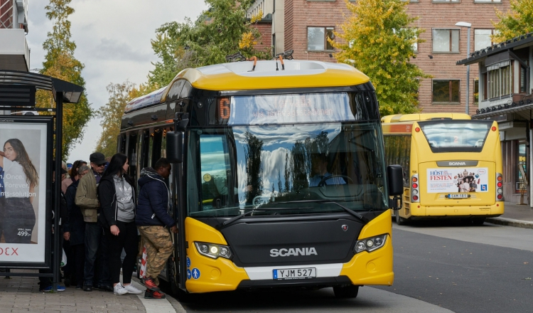 scania electric buses