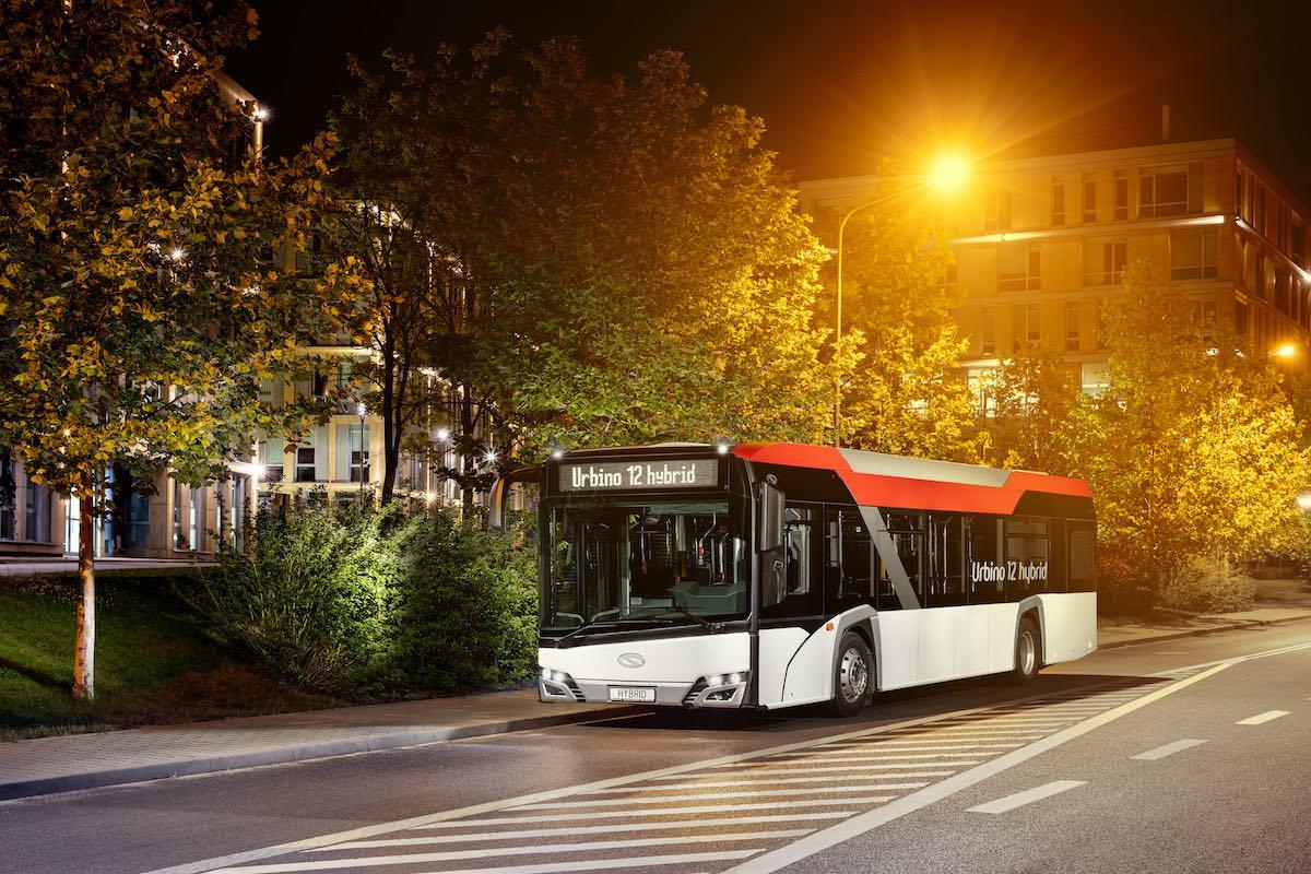 hybrid bus wallonie
