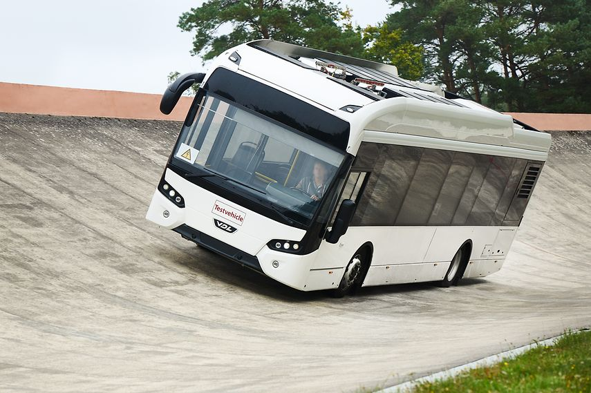 electric bus tires continental vdl