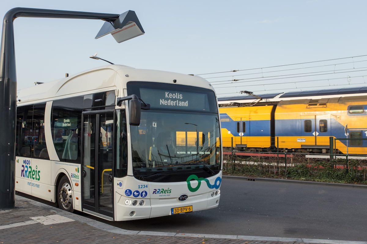keolis electric buses netherlands