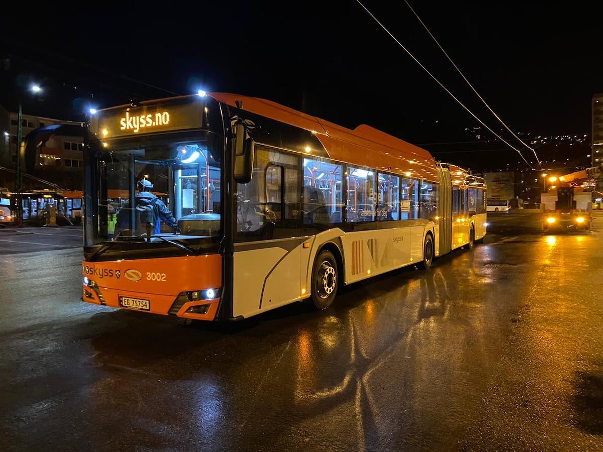 keolis bus fleet bergen