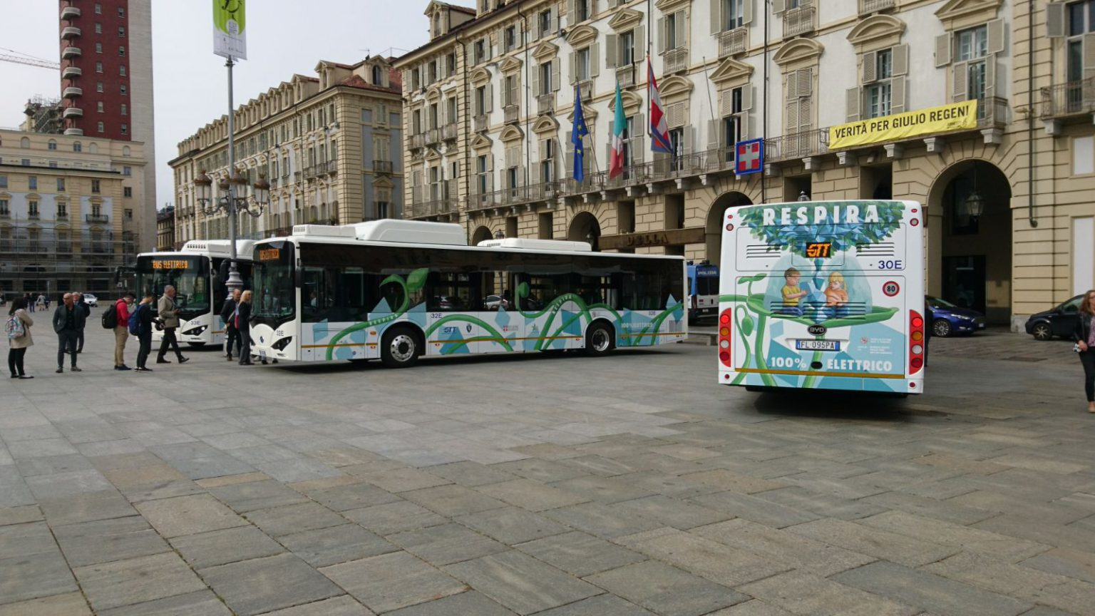 byd electric buses turin
