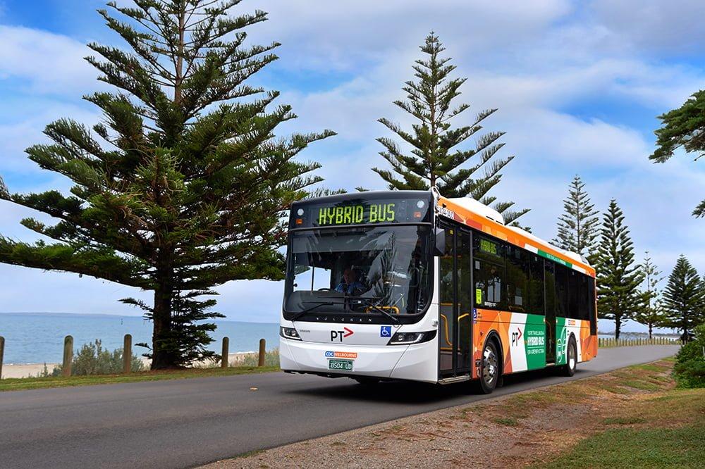 melbourne hybrid buses