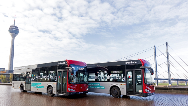 e-buses Düsseldorf