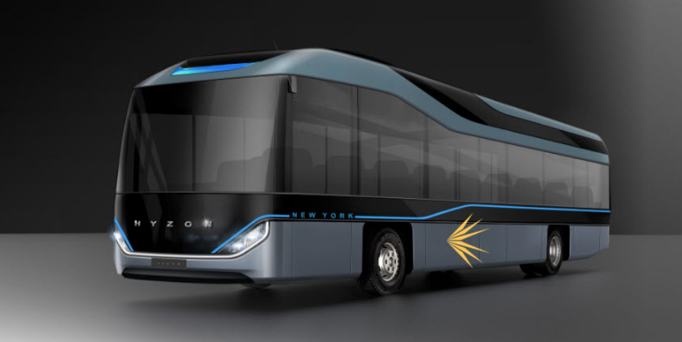 fuel cell bus hyzon