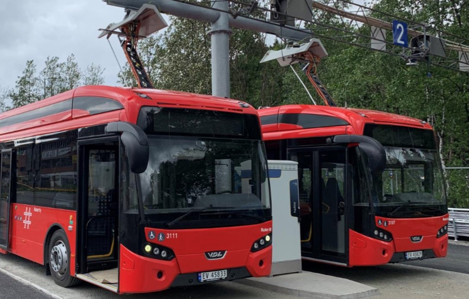 oslo electric buses vdl