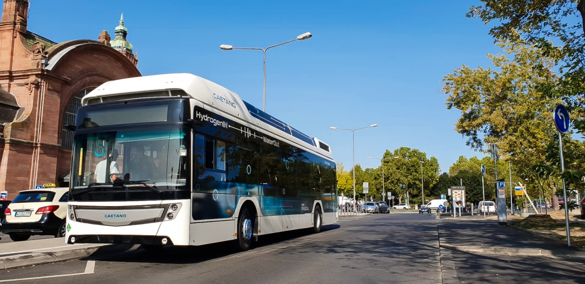 fuel cell buses wiesbaden
