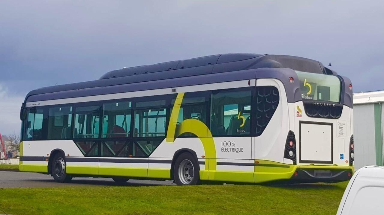 heuliez electric bus brest