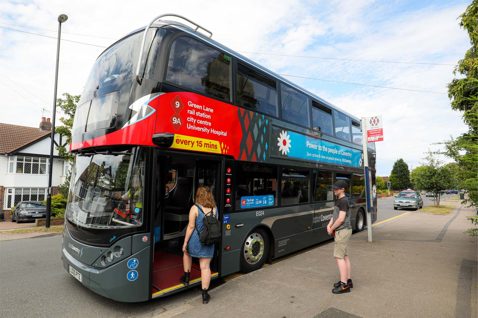UK all-electric bus cities