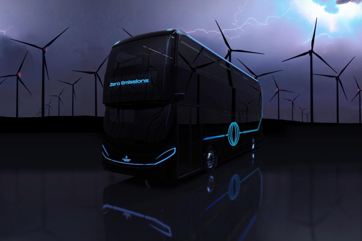 alexander dennis h2.0 hydrogen bus