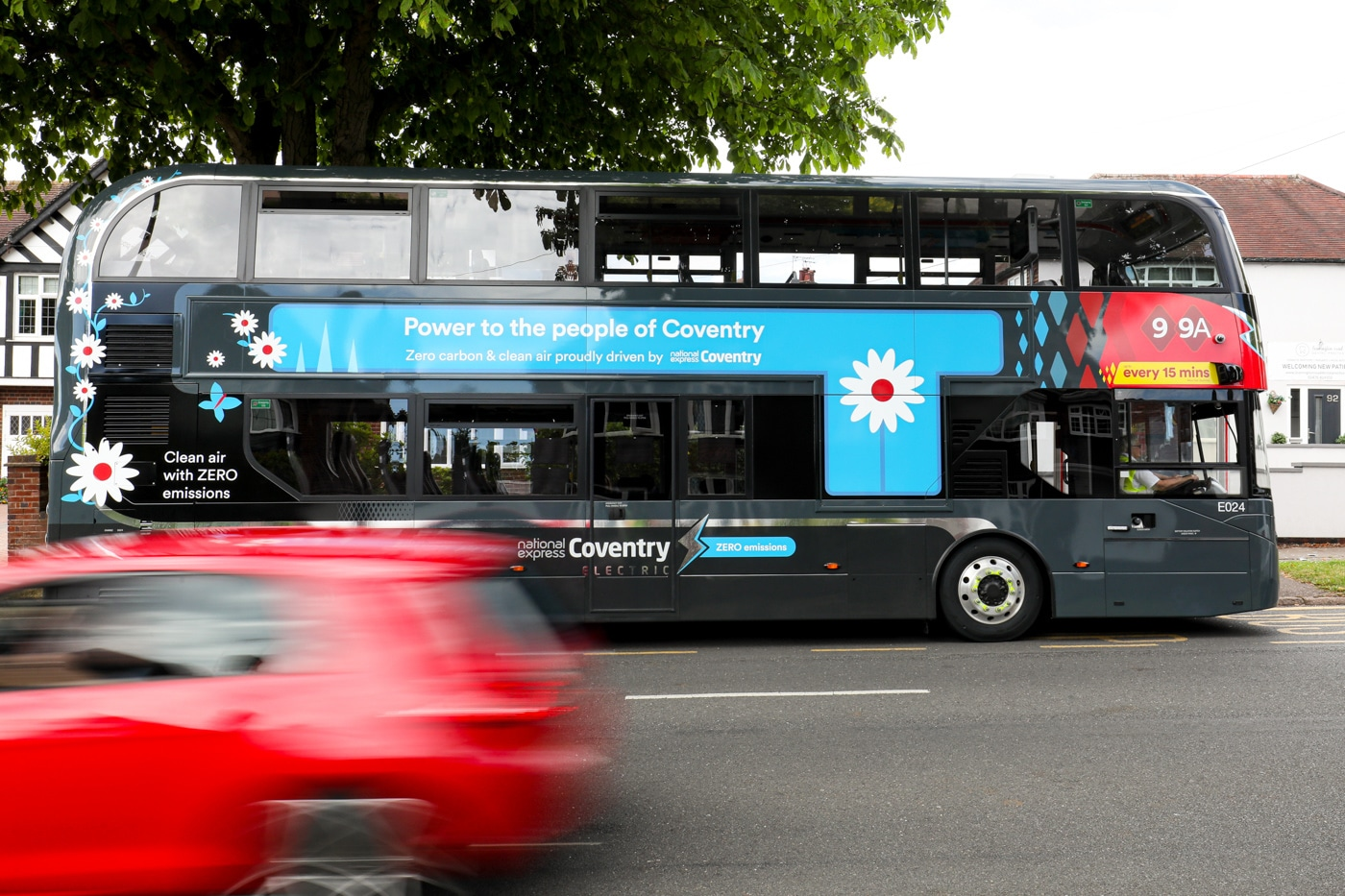 coventry electric bus city