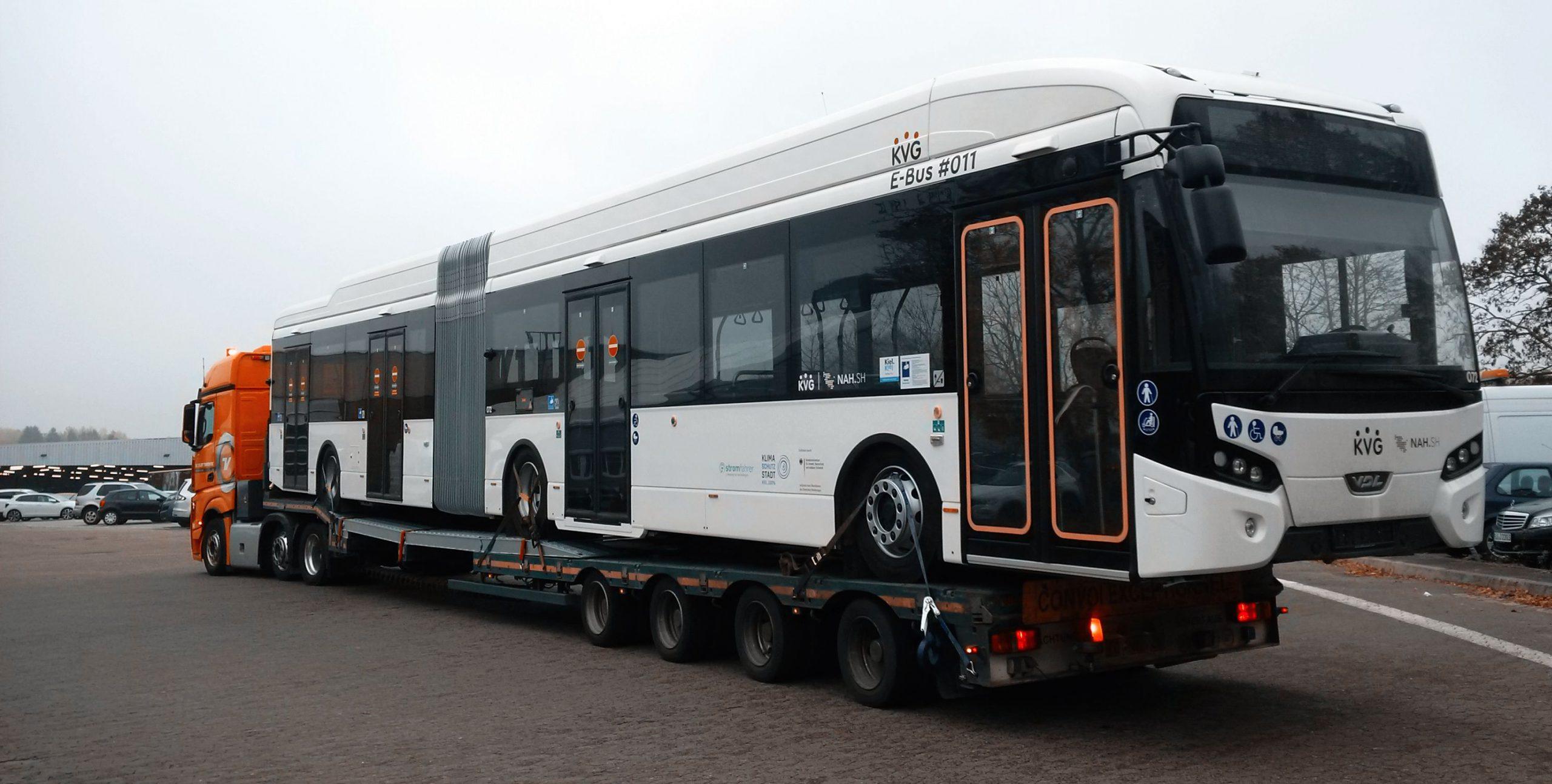kiel electric buses