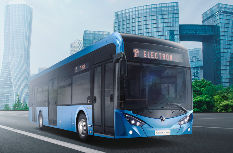temsa electric bus romania