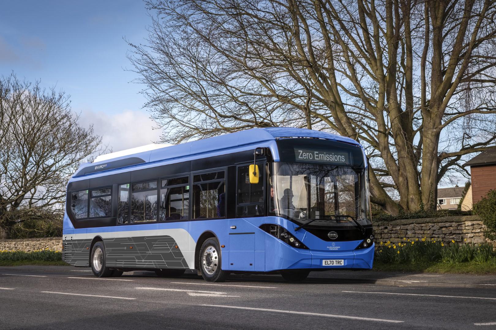 byd adl electric bus glasgow