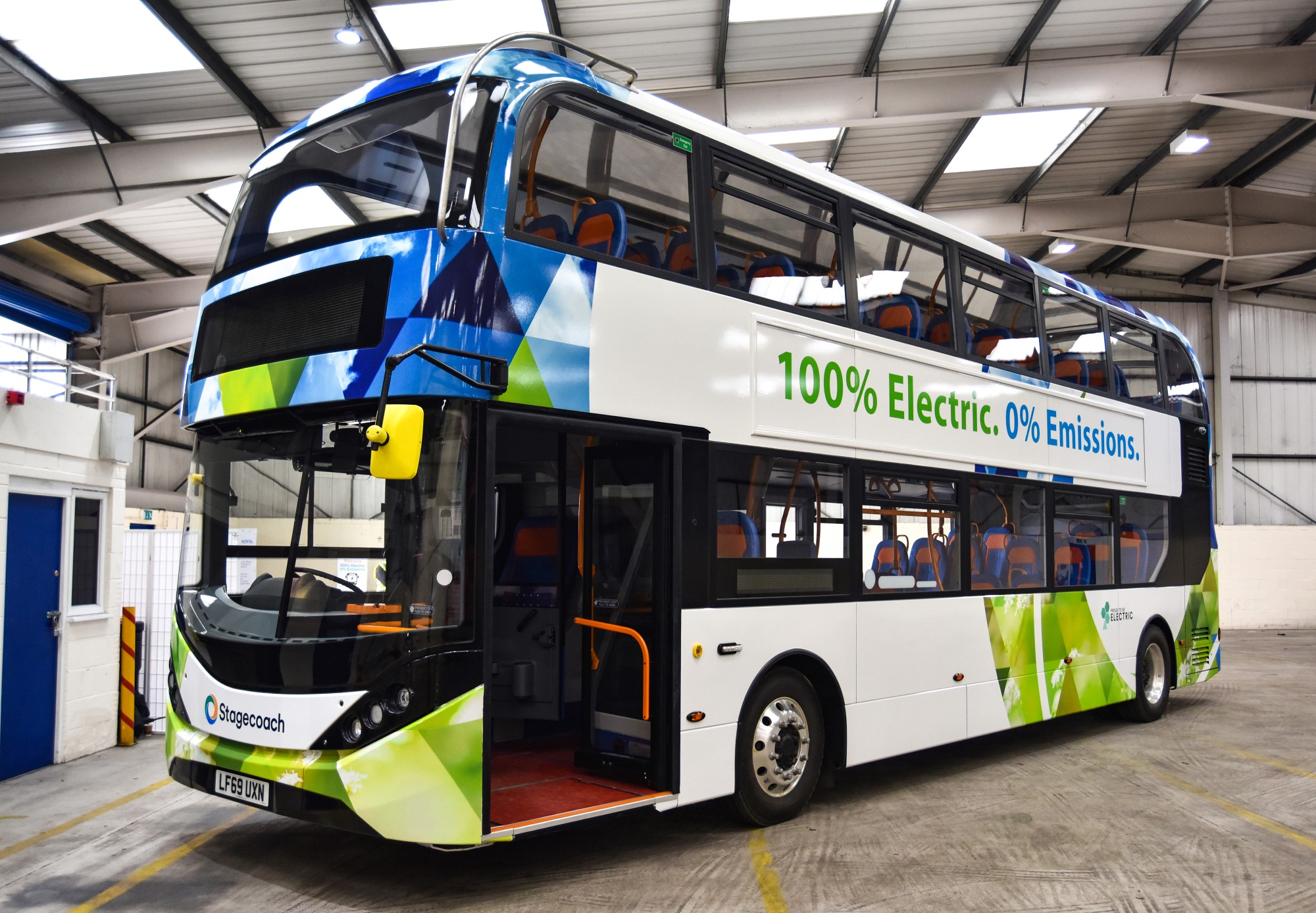 stagecoach electric buses scotland