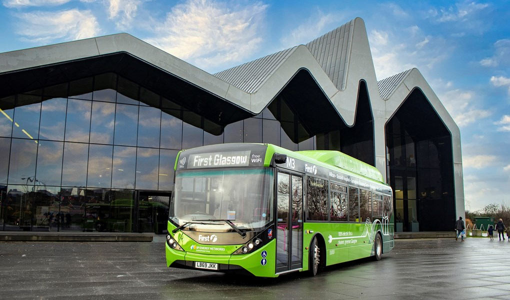 largest e-bus order so far in Scotland
