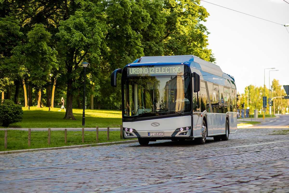 solaris electric buses czech republic
