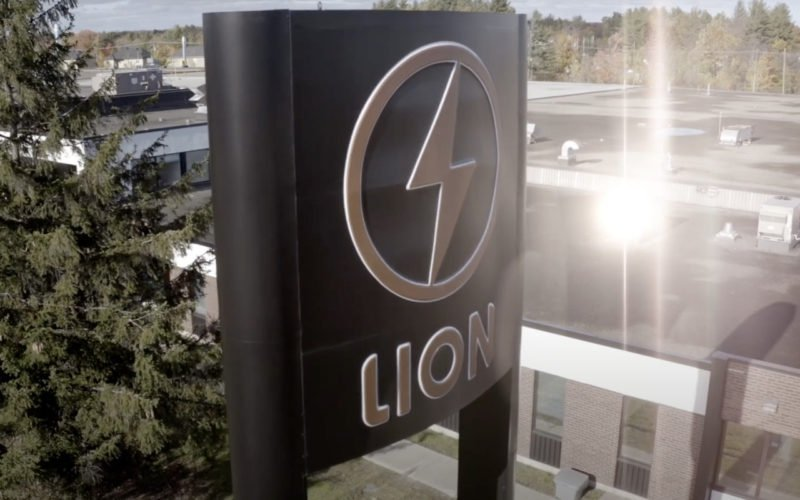 lion electric battery plant canada