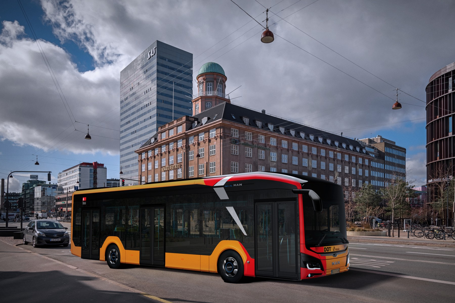 MAN electric bus Copenhagen