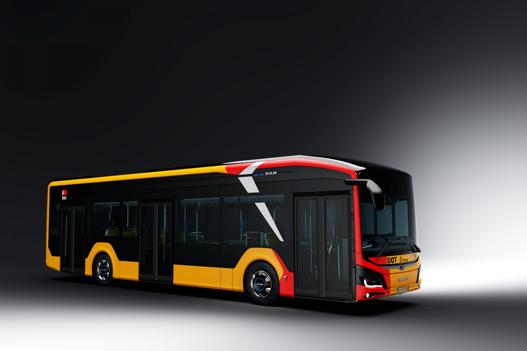 MAN electric bus Copenhagen